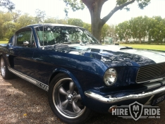 Ford Mustang GT Fastback Car Hire in QLD 3126